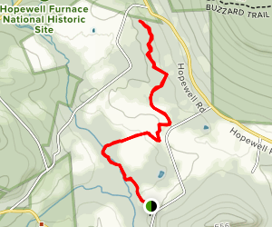 Crow's Nest Preserve Trail Map