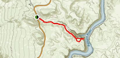Lower Layout Creek Trail Map