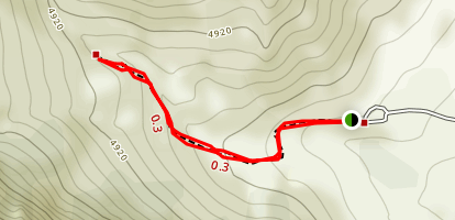 Upper Layout Creek Trail Map