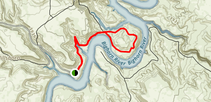 Barry's Island Trail Map