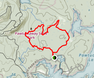 Fundy and Shaw Loop Trail Map