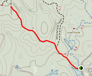 Round Pond Trail Map