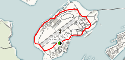 Ford Island Loop Map