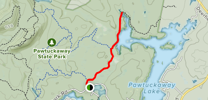 Fundy Trail (from State Park Road) Map
