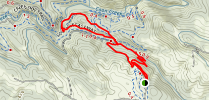 Hidden Falls Trail Map