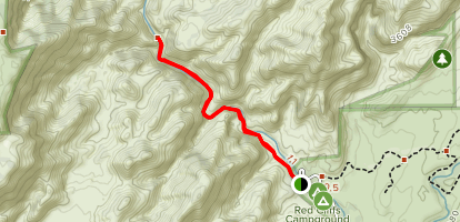 Red Reef Trail Map