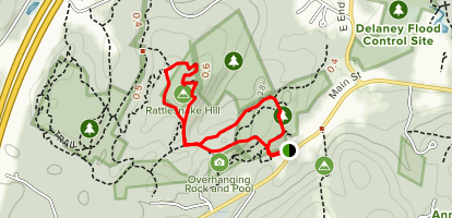 Rattle Snake Trail Map