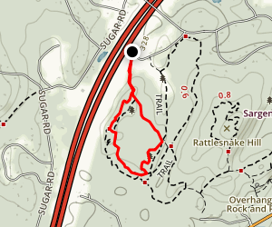 Split Rock Trail Map