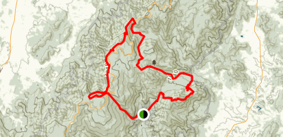 Shenandoah National Park Loop Map