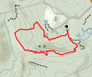 Geology Trail and Wildflower Trail Loop  Map