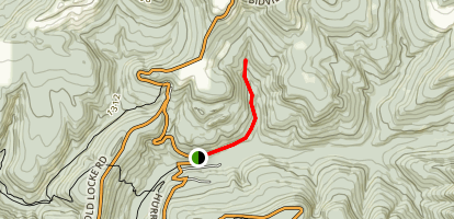 Dockery Gap Falls Map