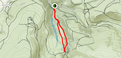 Aber Falls Walk Map