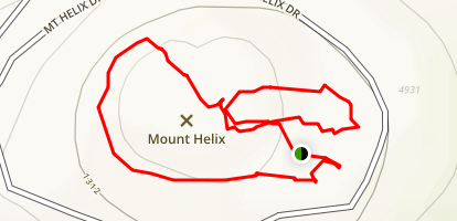 Mount Helix Map