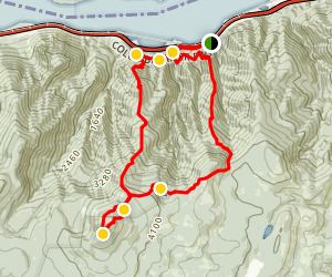 Mount Defiance Trail Map