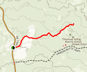Thomas-Wright Battlefield Trail Map
