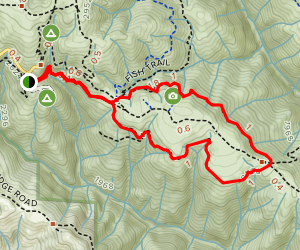 Spring and Forest Loop Trail Map