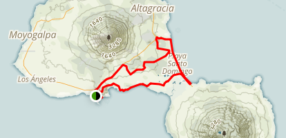 Reto de La Isla MTB Loop Map