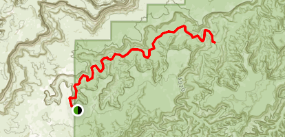 Upper Horse Canyon Trail Map