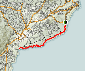 Jogasaki Coast Trail Map