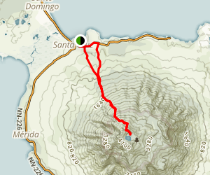 Volcan Maderas Map