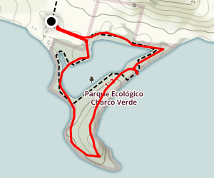 Charco Verde Trail Map