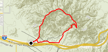 Long Telegraph Pass Loop Map