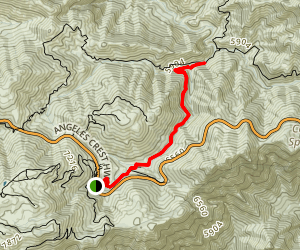 Buckhart Trail to Cooper Canyon Falls Map