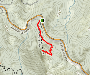 Buena Vista Trail Map