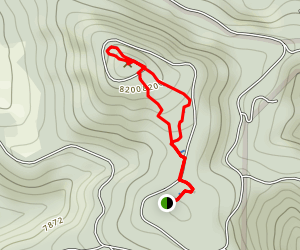 Genesee Summit Trail Map