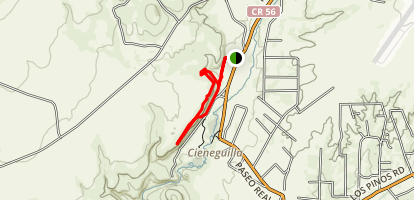 La Cieneguilla Loop Map