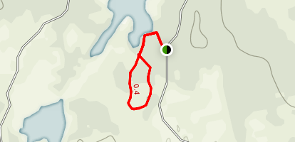 Blackhorse Lake Hiking Trail Map
