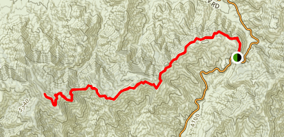 Mount Gleason Trail Map