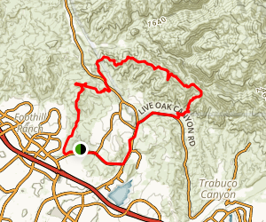 Whiting to Luge Loop Trail Map