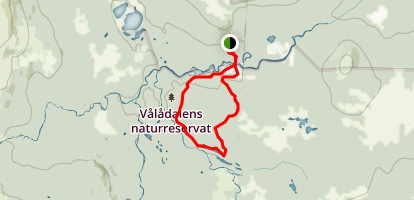 Valadalen Map