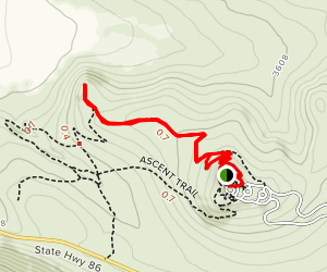 Panoramic/Stamp Mill Trail  Map