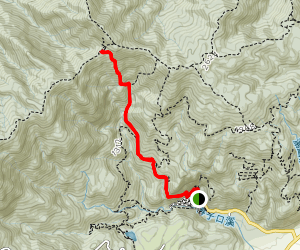 Our Lady Mountaineering Trail  Map