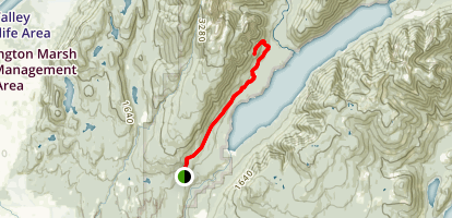 Menzies Trail Map