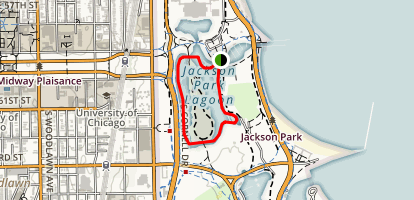 Jackson Lagoon Kayak Map