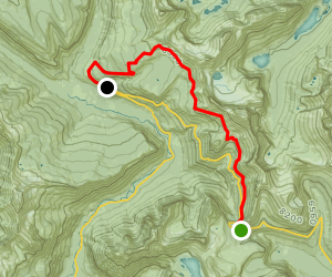Highline Trail to Granite Park Map