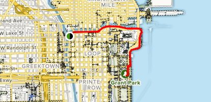 Riverwalk Chicago Map.Chicago Riverwalk To Grant Park Illinois Alltrails