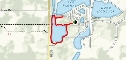 Babcock Ranch Sunset Park Trail  Map