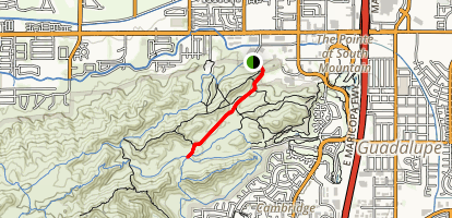 Beverly Canyon Trail Map