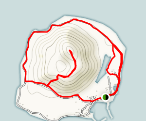 Biyangdo Island Map