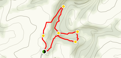 Fulling Mill Falls Loop Map