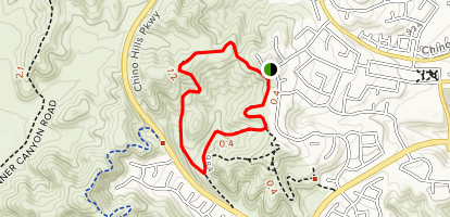 La Sierra Trail Loop Map