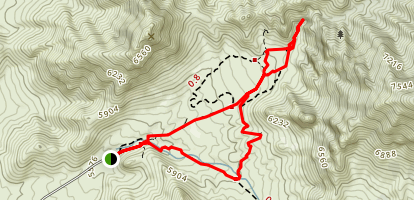 Soledad Canyon Loop  Map