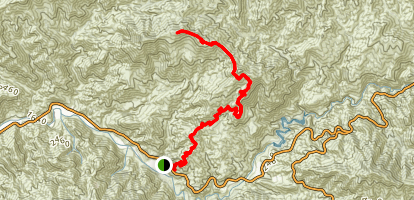 Condor Peak Trail Map