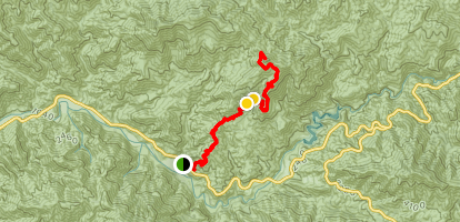 Fox Mountain Trail Map