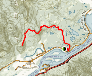 Aldrich Butte Trail Via Pacific Crest Trail Map