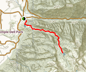 Bell Canyon Upper Reservoir Map